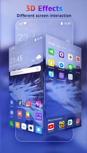 U Launcher Lite-New 3D Launcher 2020, Hide apps screenshot 4