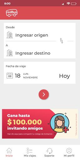 redBus - Pasajes de Bus Online en Perú y Colombia screenshot 1