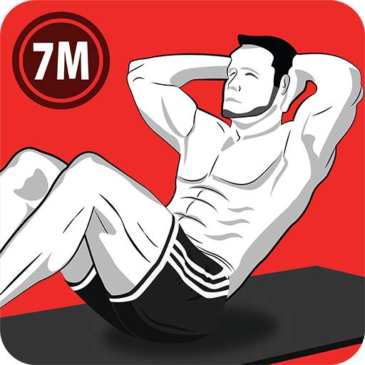 7 Minute Abs Workout - Home Workout for Men