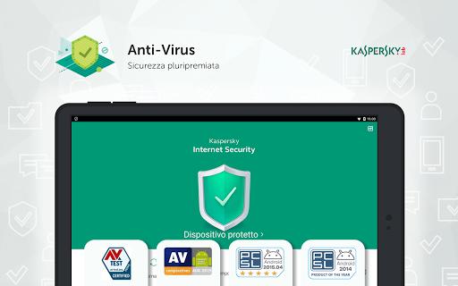 Kaspersky Mobile Antivirus: AppLock Sicurezza Web screenshot 15