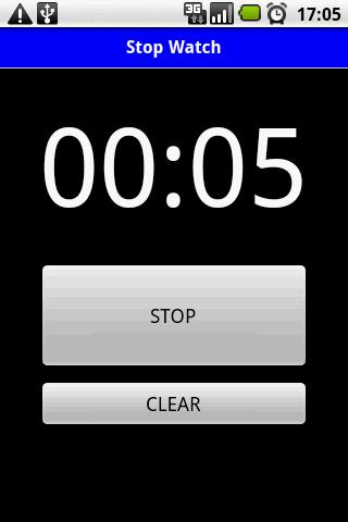 StopWatch Simple screenshot 1
