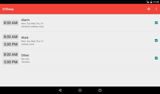Konuşan Saat ve Alarm DVBeep screenshot 9