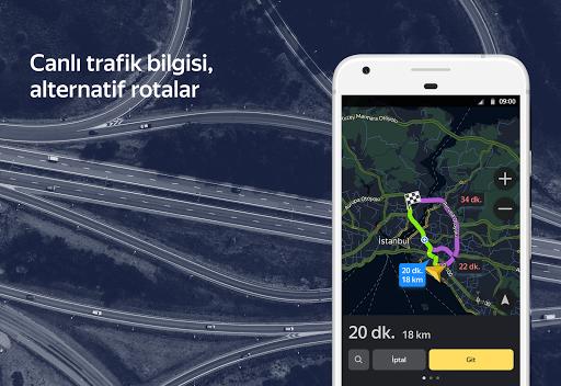 Yandex Navigasyon screenshot 1