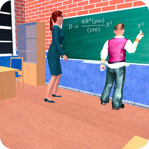Virtual High School Teacher 3D icon