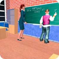 Virtual High School Teacher 3D on 9Apps