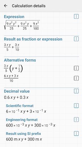 HiPER Scientific Calculator скриншот 6