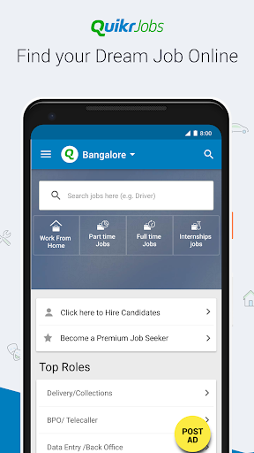 Quikr – Search Jobs, Mobiles, Cars, Home Services screenshot 2