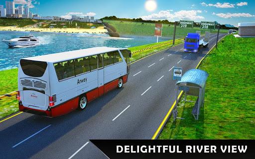 River Bus Driver Tourist Coach Bus Simulator screenshot 18