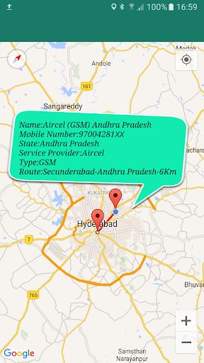 Mobile Number Location : Area Calculator & Compass screenshot 8