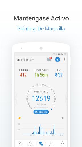 Podómetro gratis - Contador de Pasos y Calorías screenshot 1