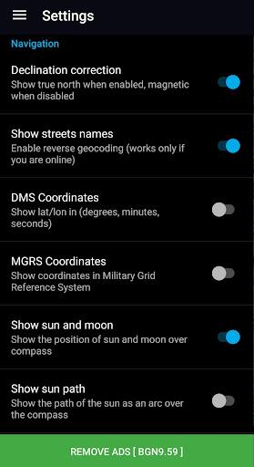 GPS Compass Navigator screenshot 7