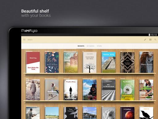 eReader Prestigio: Okuyucu screenshot 9