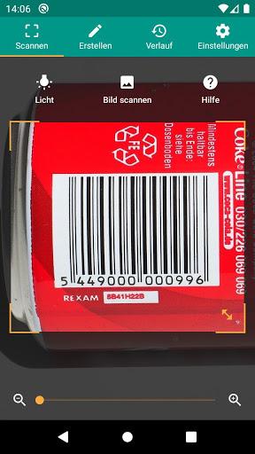 QR & Barcode Scanner (Deutsch) screenshot 2
