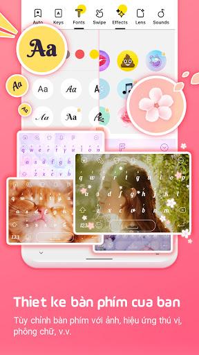 Bàn phím Facemoji: Bàn phím screenshot 2