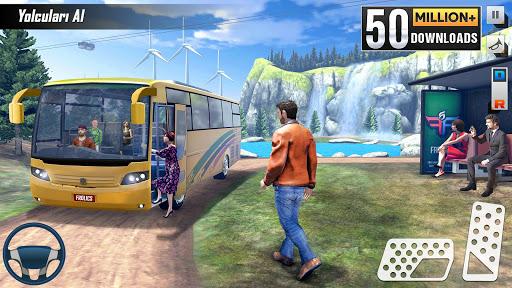 Sürüş Otobüs Park Etme Oyunu 2020: Otobüs oyunları screenshot 1