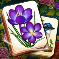 Mahjong Blossom Solitaire on 9Apps