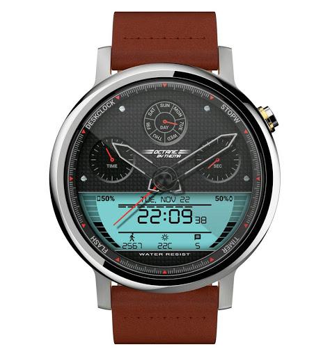 Octane Watch Face & Clock Widget скриншот 9