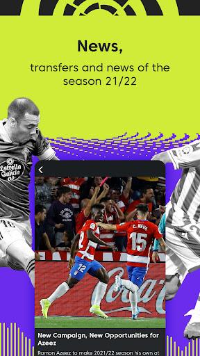 La Liga Official App - Live Soccer Scores & Stats screenshot 4