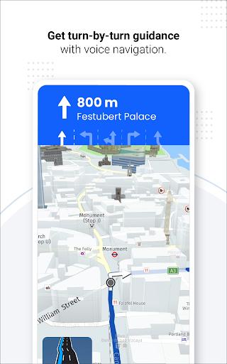 Navegação GPS ao vivo, mapas, direções e explorar screenshot 22