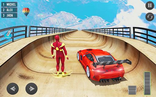 Mega Ramp Car Stunt Driving Games - Car Games screenshot 1