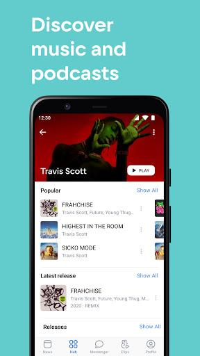 VK — live chatting & free calls screenshot 2
