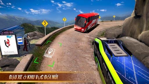 Buýt mô phỏng trò chơi đậu xe - trò chơi xe buýt screenshot 2