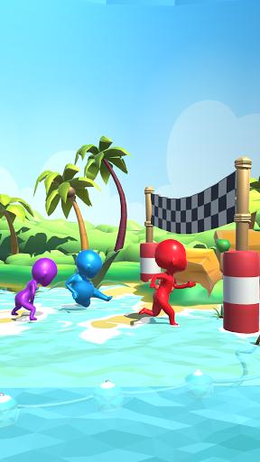 Sea Race 3D - Fun Game Run 3D screenshot 4
