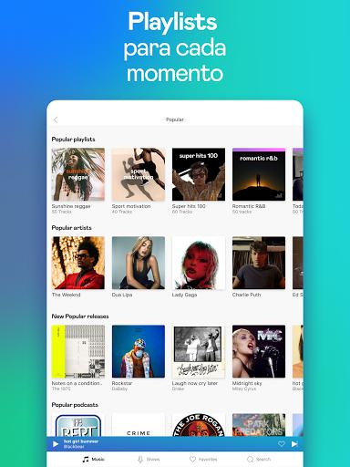 Deezer: Ouvir Músicas, Playlists e Podcasts screenshot 12