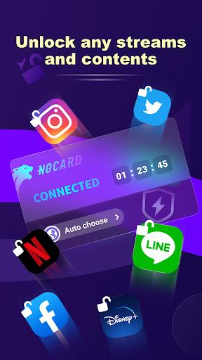 NoCard VPN - Free Fast VPN Proxy, No Card Needed screenshot 4
