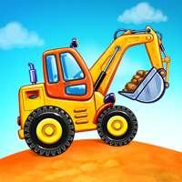 Truckgames voor kinderen - woningbouw, Autowassen on 9Apps