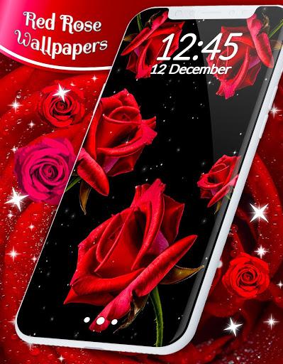Red Rose Live Wallpaper 🌹 Flowers 4K Wallpapers screenshot 6