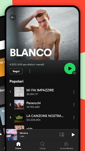 Spotify: musica e podcast screenshot 3