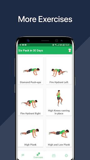 7 Minute Abs Workout - Home Workout for Men 2 تصوير الشاشة
