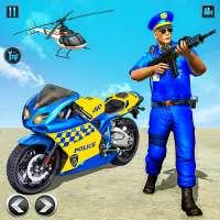 US Police Bike Gangster Chase: Police Bike Games on 9Apps