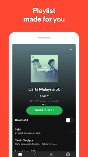 Spotify - Muzik dan Podcast screenshot 6