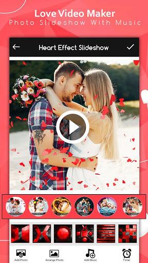 Love Video Maker : Photo Slideshow With Music screenshot 6