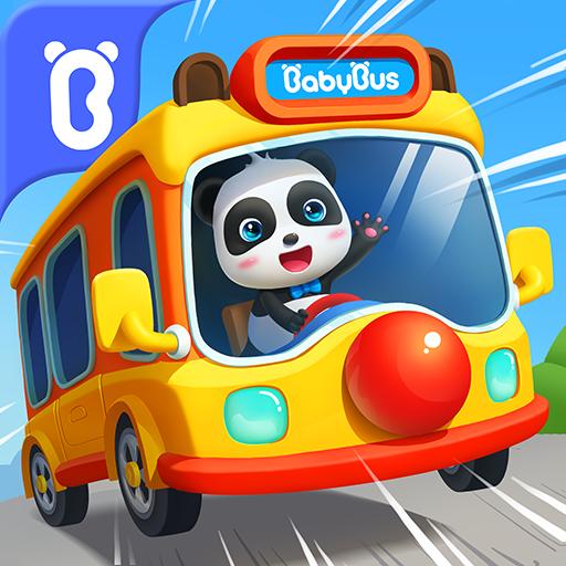 Bus scolaire de Bébé Panda icon