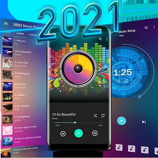 음악 플레이어 2021 icon