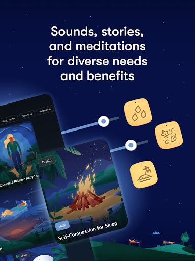 Relax Melodies: Sleep Sounds, Meditation & Stories स्क्रीनशॉट 10