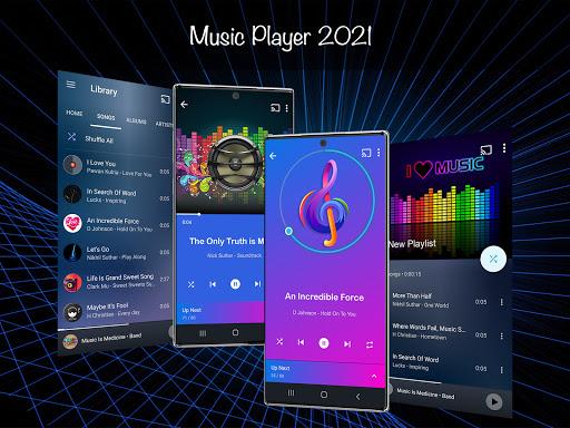 음악 플레이어 2021 screenshot 1