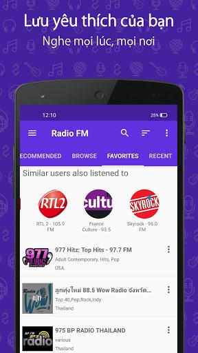 Đài FM (Radio FM) screenshot 5