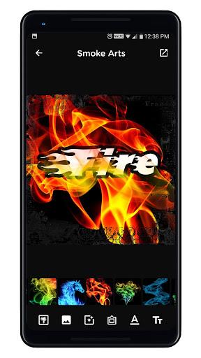 Smoke Name Art - Smoky Effect Focus n Filter Maker screenshot 5