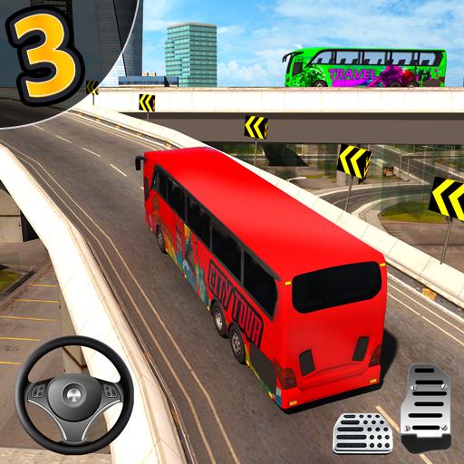 City Bus Simulator 3D - Addictive Bus Driving game आइकन