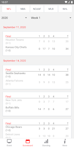 2021 NFL Live Streaming And More screenshot 2