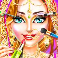 Traditional Wedding Salon - Makeup & Dress up Game on 9Apps