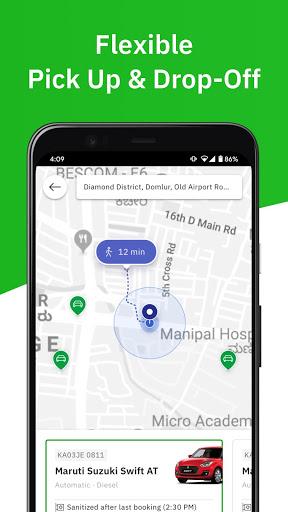 Zoomcar - Sanitized Self-drive car rental service screenshot 4