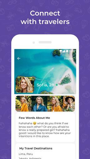 Travel dating: YourTravelMates screenshot 4