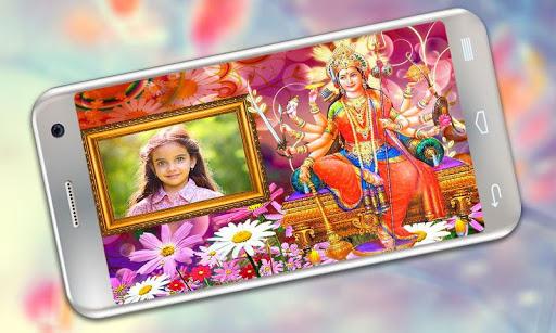 Durga Maa Photo Frames 2 تصوير الشاشة