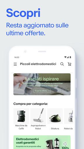eBay - shopping moda, elettronica, casa e giardino screenshot 4