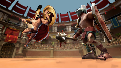 Gladiator Heroes - Fighting and strategy game screenshot 3